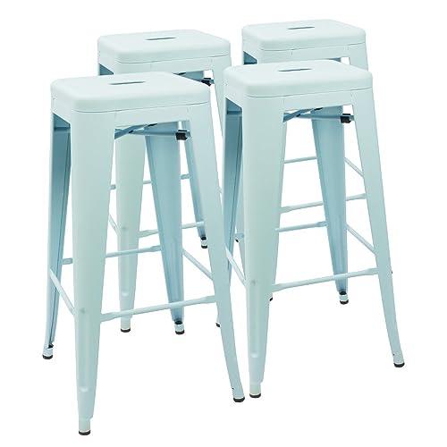 Fine Buy Devoko Metal Bar Stool 30 Tolix Style Indoor Outdoor Lamtechconsult Wood Chair Design Ideas Lamtechconsultcom