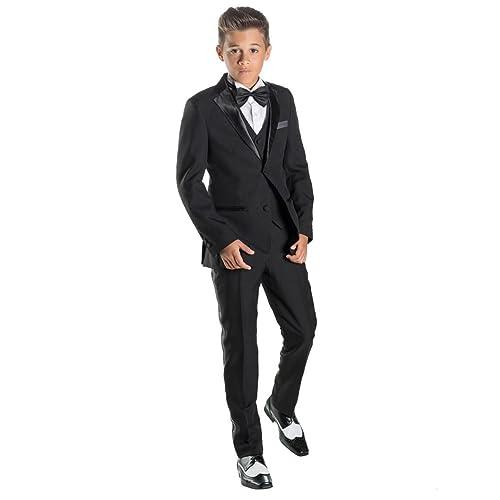 Felix 5pc Combo Suit Paisley of London Boys Formal Slim Fit Suit 1-14 Years