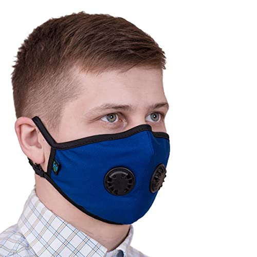 amp; Filters W Mask Carbon Antiviral Activated Face Dust Washable N95 N99 Anti Reusable Respirator Torespire Pollution Adjustable Straps Head