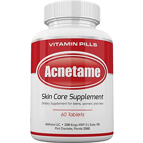 Best Acne Supplements Vitamins Hormonal Skin Pill Over The