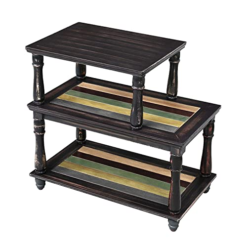Awe Inspiring Buy Vasagle End Table With Colorful Storage Shelf 3 Tier Beatyapartments Chair Design Images Beatyapartmentscom