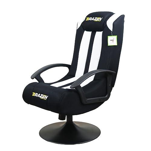 Black BraZen Stag 2.1 Bluetooth Surround Sound Gaming Chair