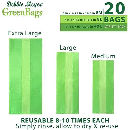 Buy Debbie Meyer GreenBags - Reusable BPA Free Food Storage