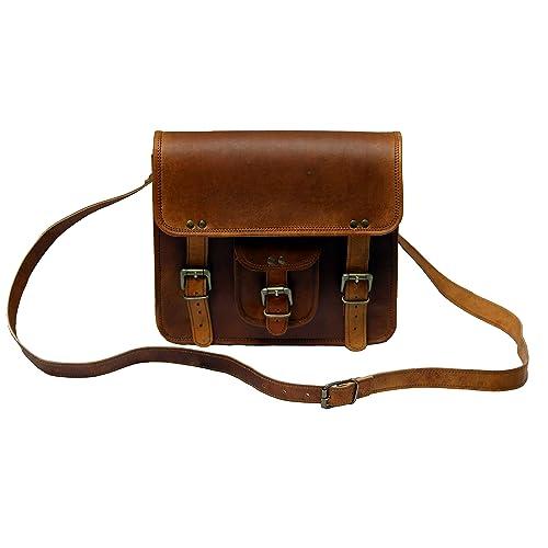 3346681e5924 Buy TLC 11 Inch Leather Messenger Bag Laptop Bag Crossbody Bags for ...