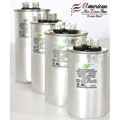 Buy TRANE SF 25+5 MFD μF (MicroFarad) 370/440 Volts Dual Run