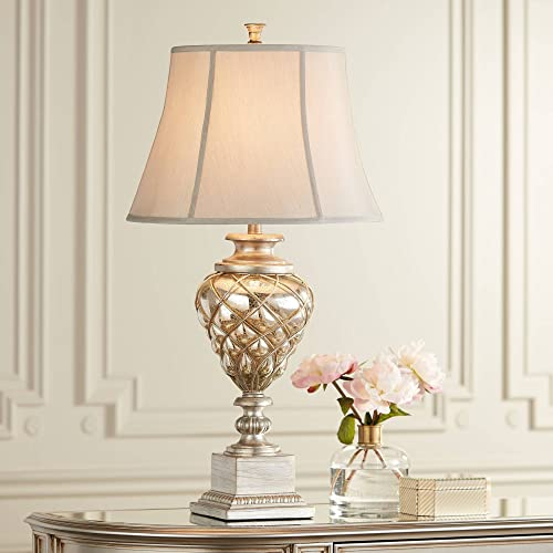 Buy Luke Traditional Table Lamp with Nightlight LED Mercury ...