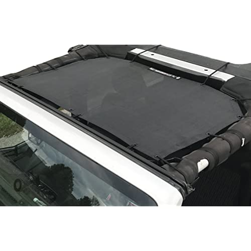 Body & Trim Alien Sunshade Jeep Wrangler Mesh Shade Top Cover with ...